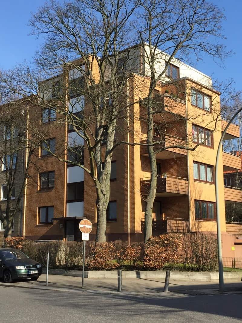 Mietverwaltung eines Mehrfamilienhauses mit 13 Wohnungen und 7 Garagen in Hamburg-Hohenfelde