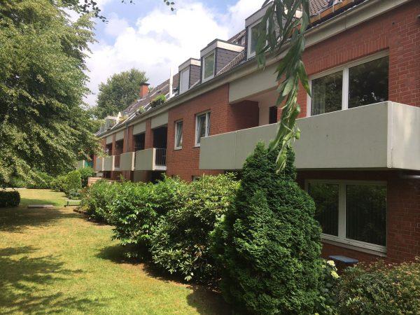 WEG – Verwaltung mit 18 Wohnungen und Tiefgarage in Hamburg – Niendorf